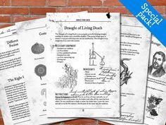 advanced potion making pdf free download