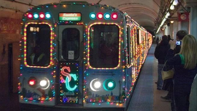 Chicago Holiday Train.