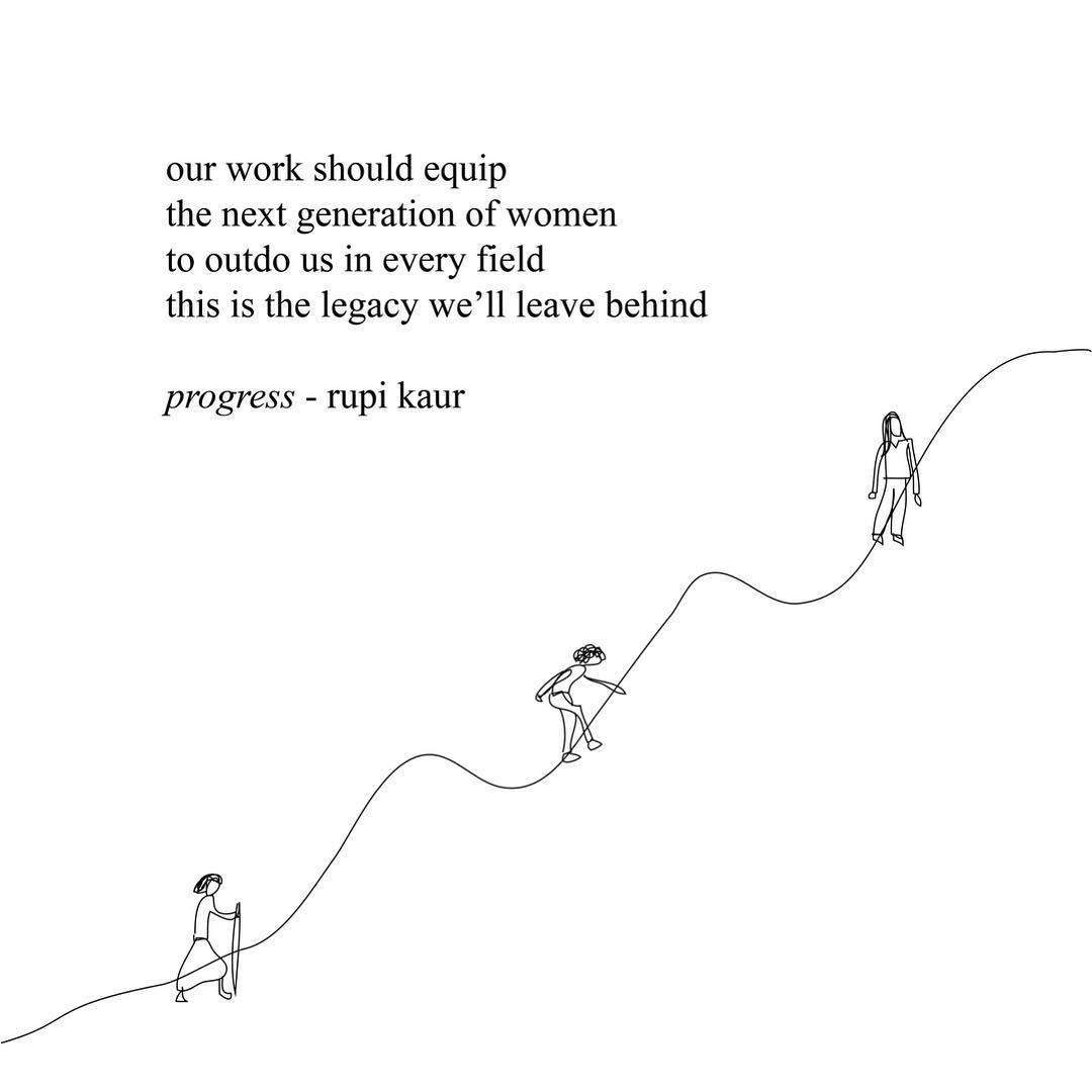 "100.4k Likes, 426 Comments - rupi kaur (@rupikaur_) on Instagram: ""reading literature by revolutionary women this international women's month. asking myself how i can…"""