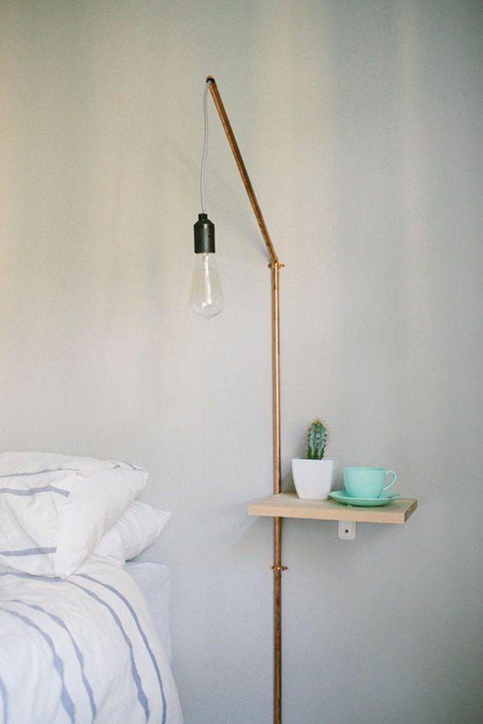 DIY Lampen Schlafzimmer Wandlampe | Home decor | Pinterest