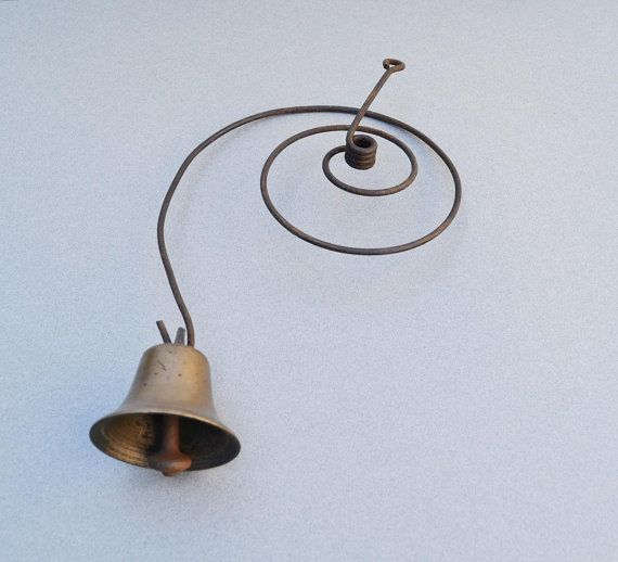 Vintage Bell Downton Abbey Bell Brass Bell Door by AveryandAllen & Vintage Bell Downton Abbey Bell Brass Bell Door by AveryandAllen ...