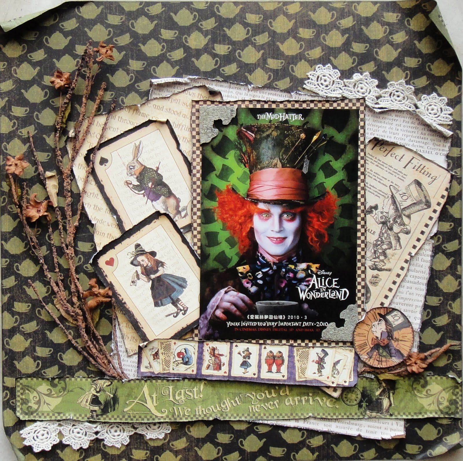 Scrapbook ideas singapore - Okay So We Don T Really Celebrate Halloween Here In Singapore But What Can You Do When You Have Such Lovely Papers As Graphic Hallow