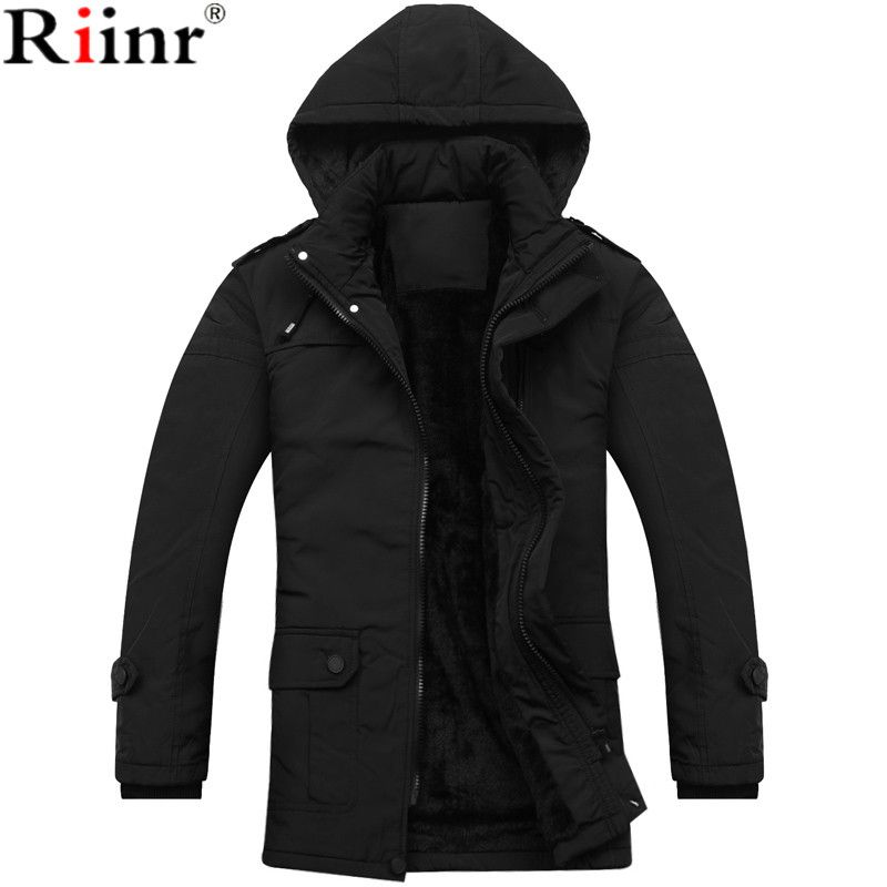 Riinr 2017 New Arrival Parka Brand Clothing Winter Men Bio-Cotton ...