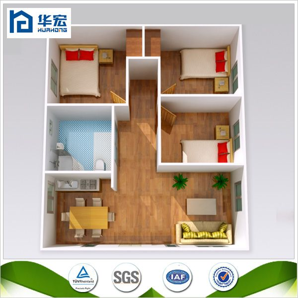 New Technology Fast Build Low Cost Prefabricated Houses