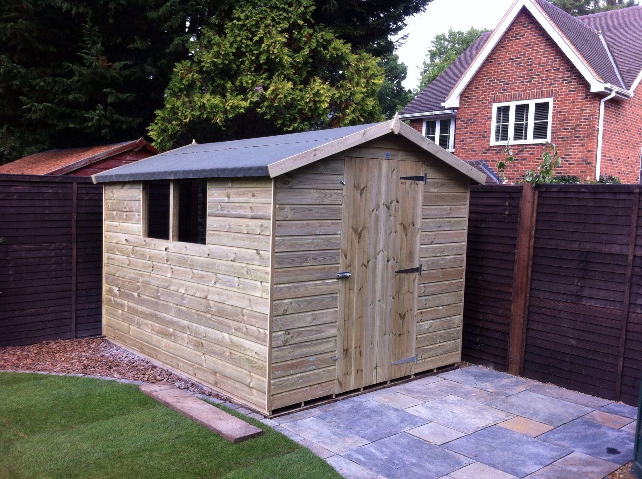our kent apex garden sheds