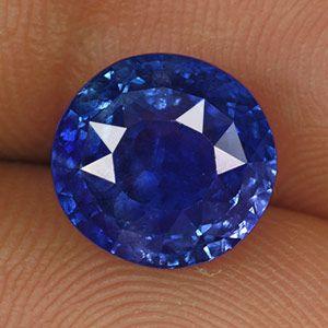 6.26-Carat Rare GIA-Certified Royal Blue Kashmir-Origin Sapphire