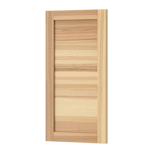 TORHAMN Door, natural ash natural ash 15x30