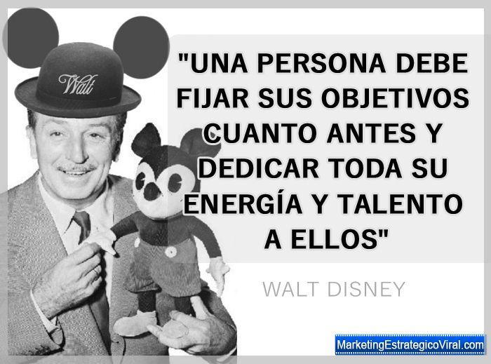 Frases Célebres De Walt Disney Walt Disney Disney Y