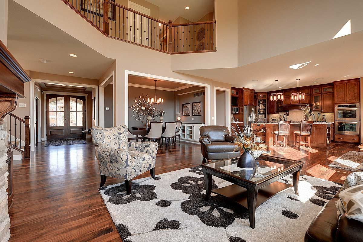 Plan 73342hs Craftsman Beauty With 2-story Great Room In