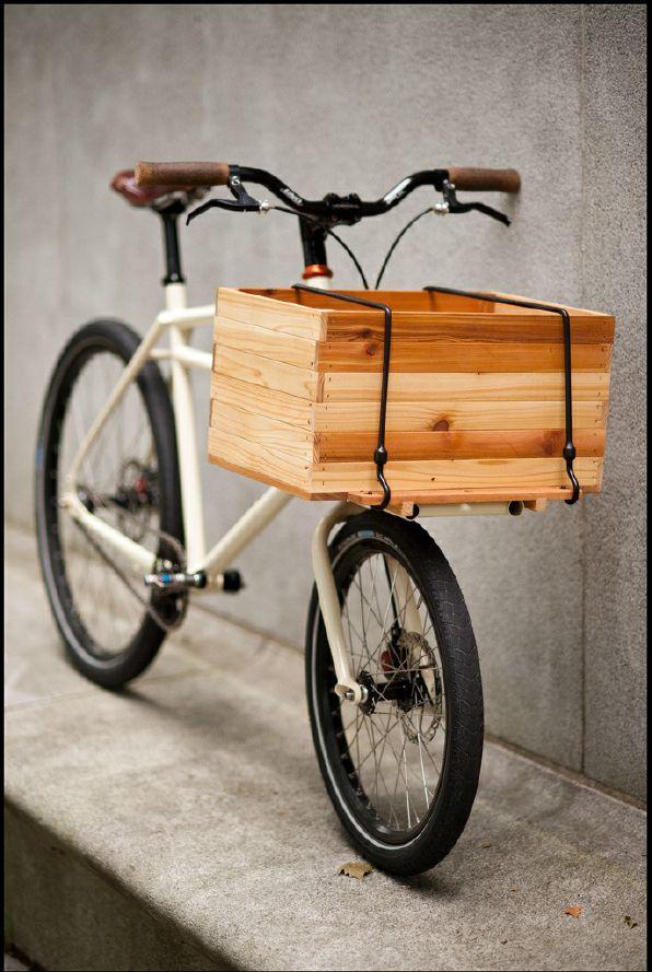 Wooden Box Bicycle Bike Craft Bike