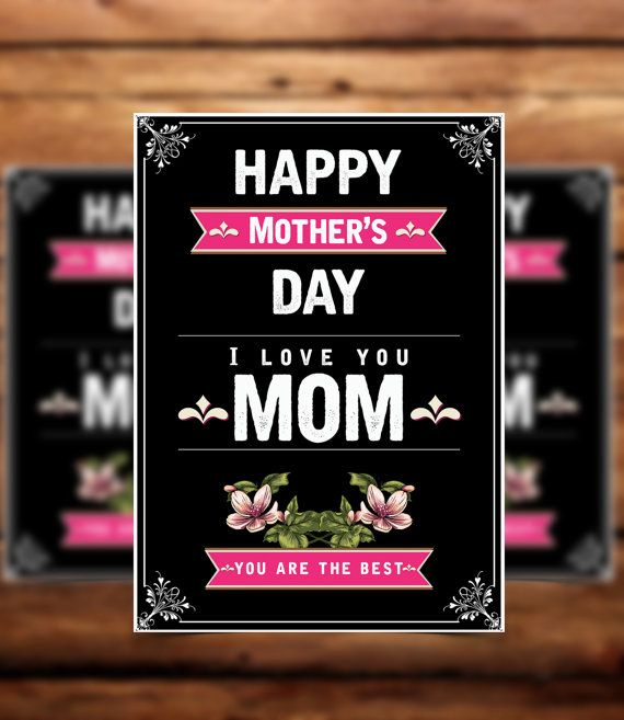 Mothers day card template card template 5x7 template card mothers day card template card template 5x7 template by koreev m4hsunfo