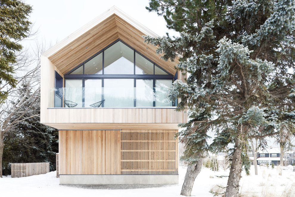16 Astonishing Scandinavian Home Exterior Designs That Will Surprise You Wood House Design Scandinavian Style Home Modern House Design