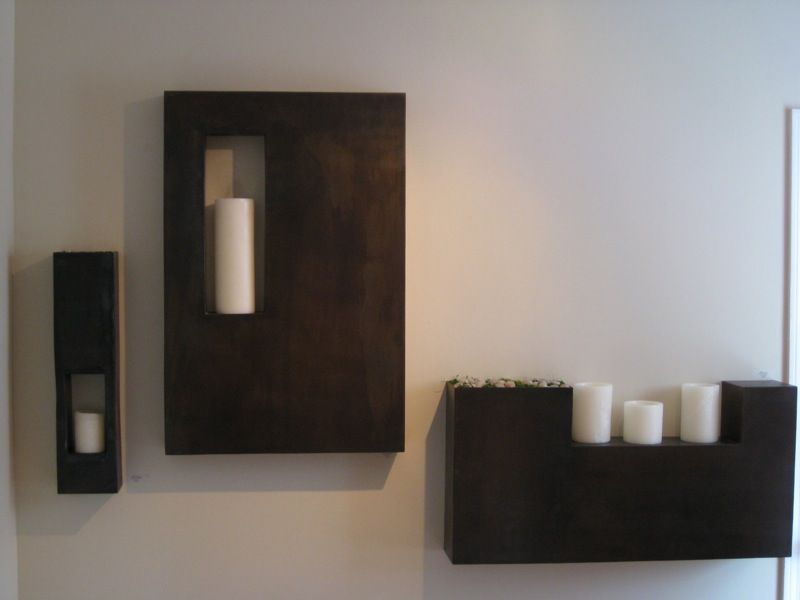 Living/dining room sconce/candle holder idea | Candle ... on Dining Room Sconce Idea id=32682