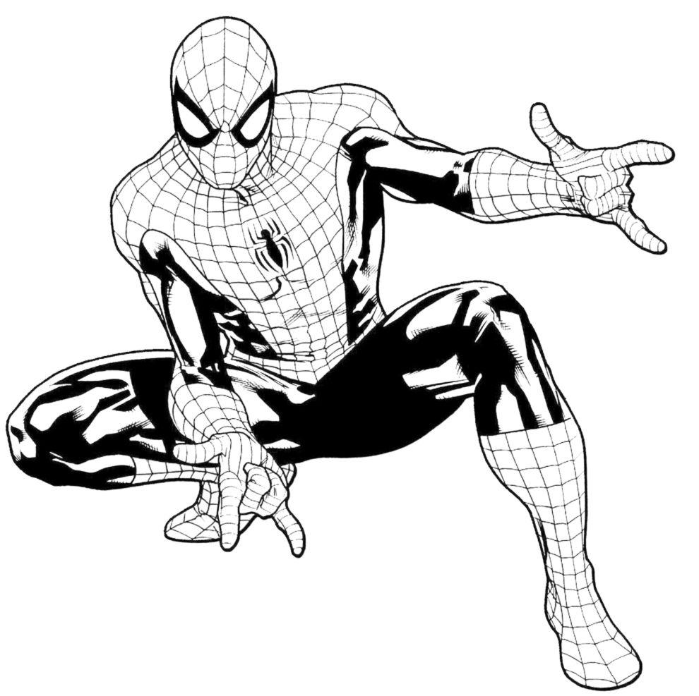 Idee Di Uomo Ragno Da Colorare Image Gallery Con Ragno Spiderman
