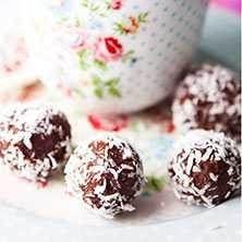 Lättlagade och supergoda chokladbollar. En riktig klassiker.