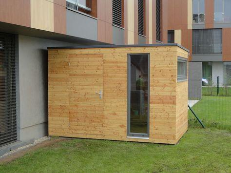 Gerätehaus 4x2 m Gartenhaus, Gartenhaus holz und Design