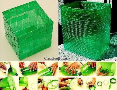 Kreativiti Kitar Semula Botol Plastik Relaks Minda Plastic Bottle Crafts Plastic Crafts Bottle Crafts