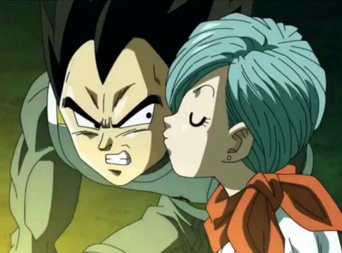 Vegeta And Bulma Dragon Ball Super Kiss Vegeta And Bulma Dragon Pictures Anime Dragon Ball