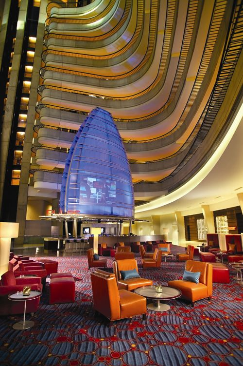 Atlanta Marriott Marquis One Of Several Hotspots For The Only