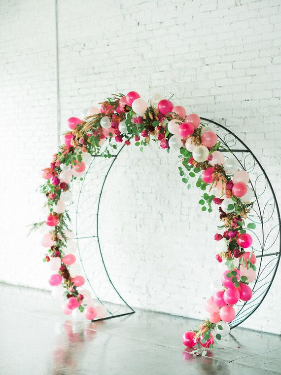 floral balloon arch | Parties & Holidays Yay! | Pinterest ...