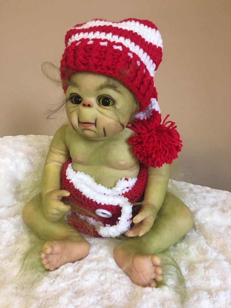 Reborn Baby grinch | Grinch | Pinterest | Lächeln