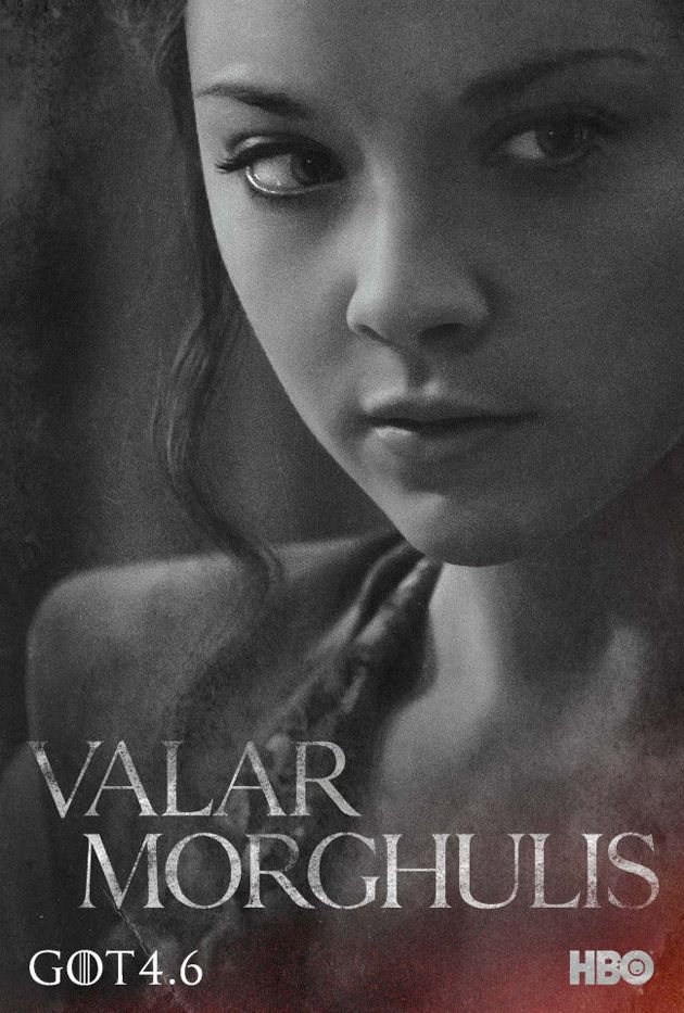 Valar Morghulis 20 Posters For Game Of Thrones Season 4 Plus