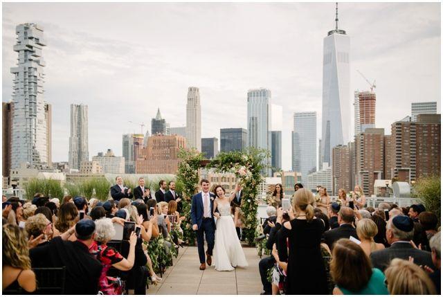 Tribeca Rooftop Wedding Chavelli Brian Hatton