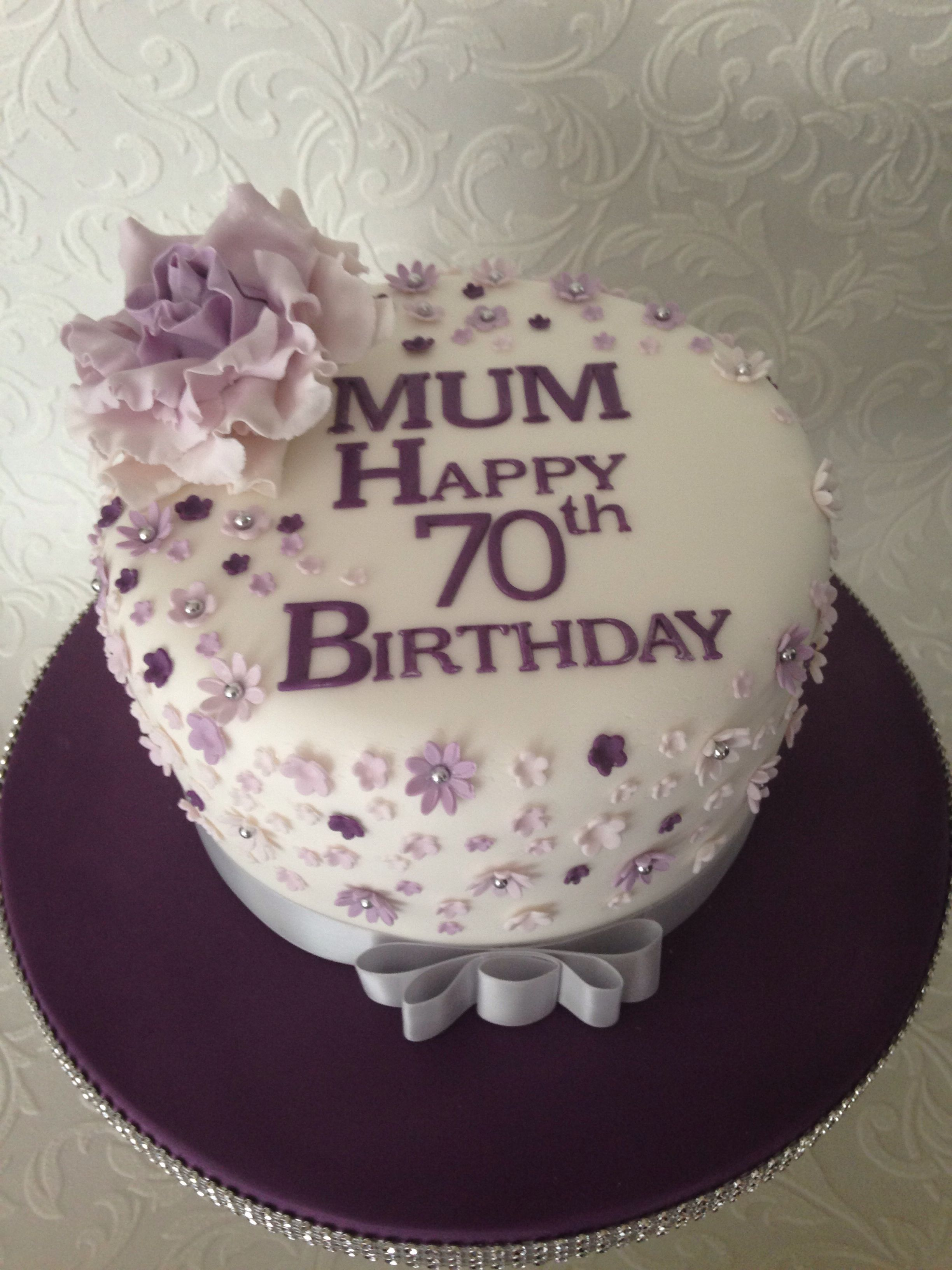 Cake Decorating Ideas 70th Birthday