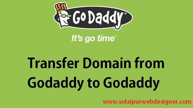 Transfer Domain From Godaddy To Godaddy Account Domain Godaddy Transfer