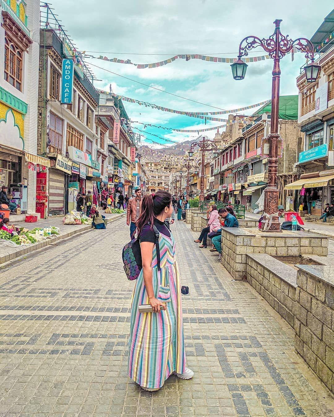 Leh Market - Cheapest Ladakh Tour Package