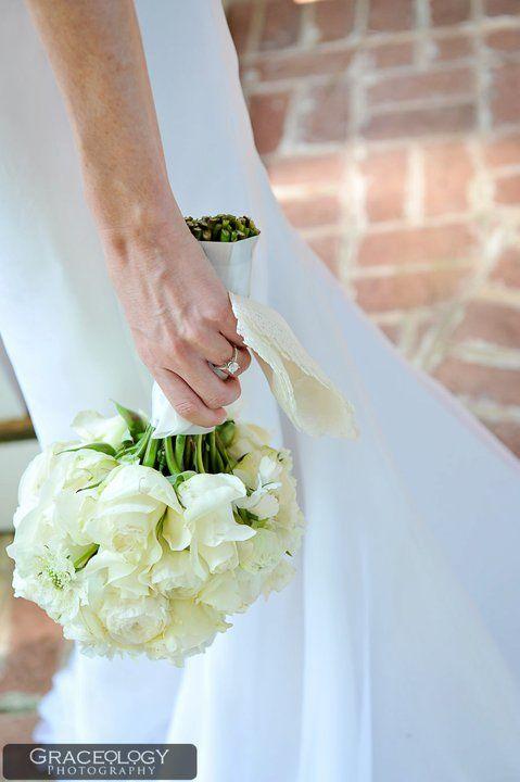 classic bridal bouquet, floral design by Le Petit Jardin, Madison ...