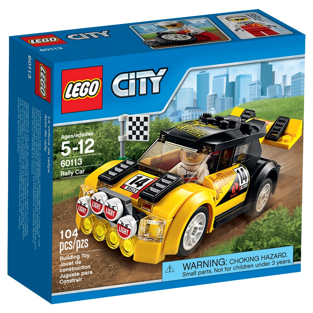 Lego car toys  Lego City Rally Car   Products  Pinterest  Lego city and