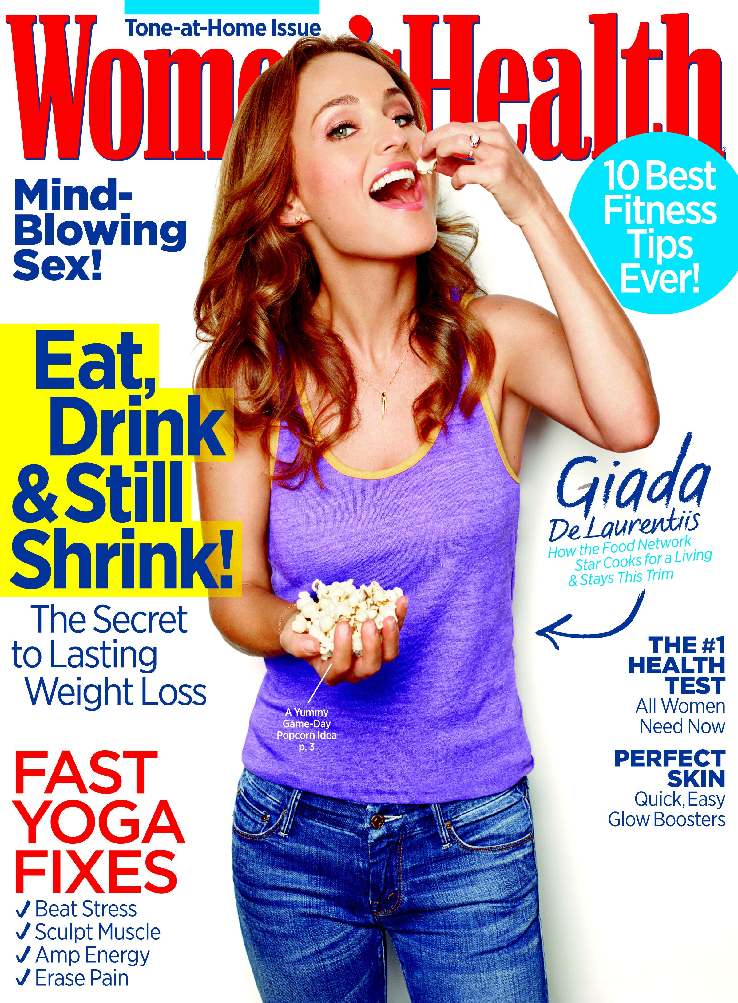 Pin by Women's Health Magazine on Women's Health Cover ...