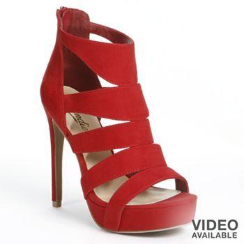 Candie's® Gladiator High Heels - Women