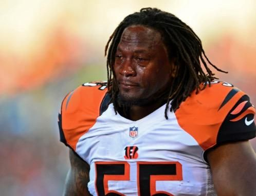 Image result for vontaze burfict crying