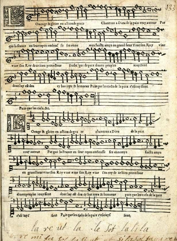16th century Sheet Music, c1551 | Ноты, Теория