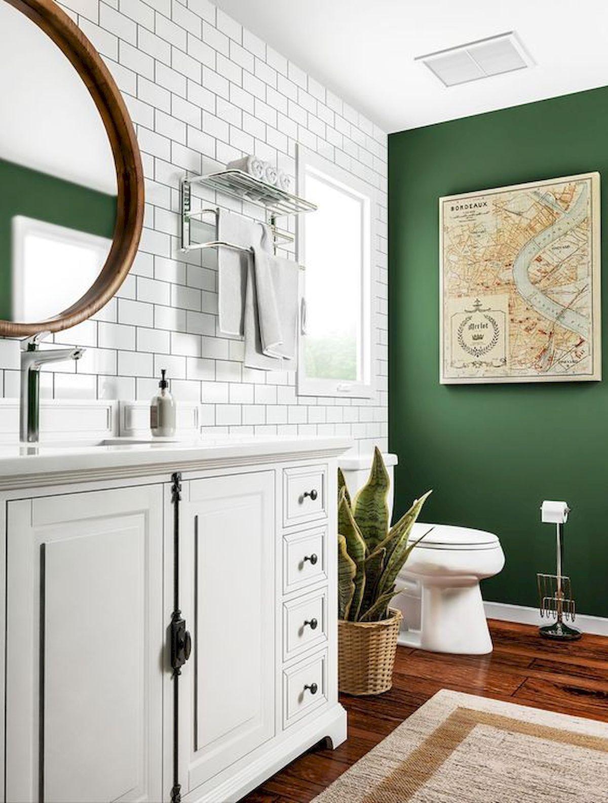 60 Fantastic Farmhouse Bathroom Vanity Decor Ideas And Remodel (1 #bathroomvanitydecor