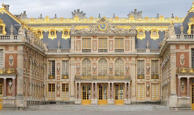 Fachada del Palacio de Versalles.