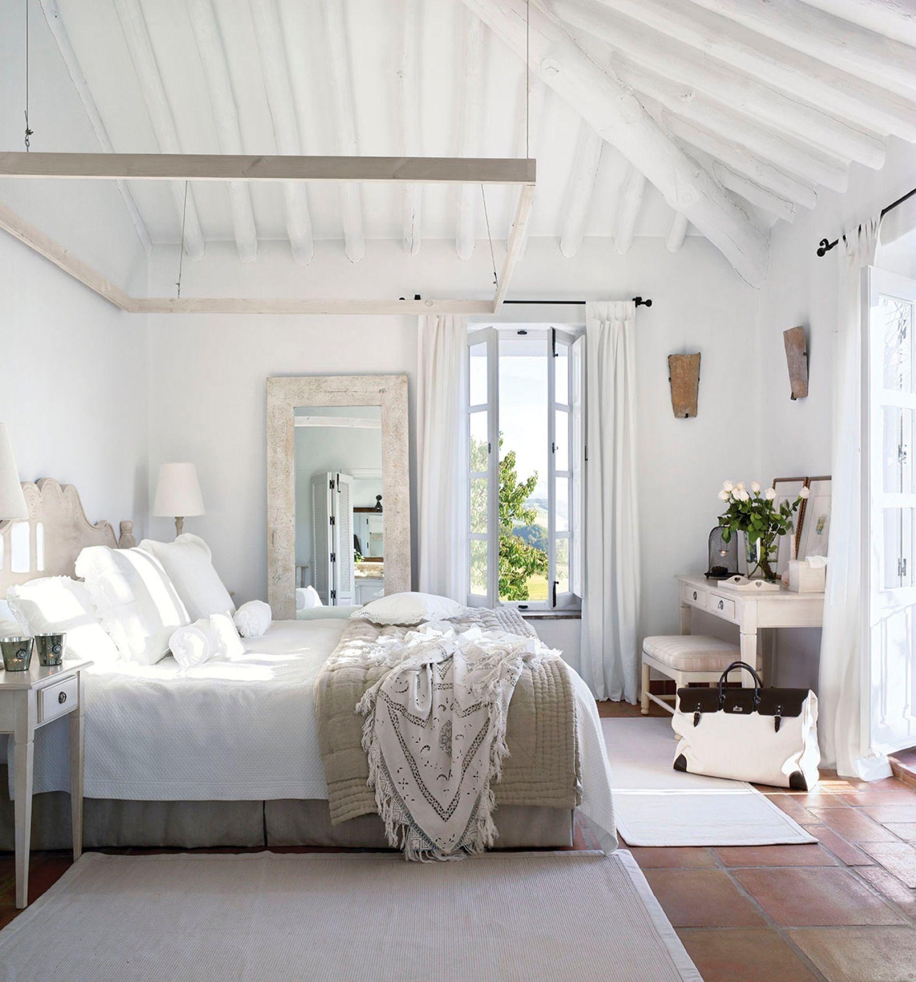 20 dormitorios r sticos con mucho encanto deco - Dormitorio con encanto ...