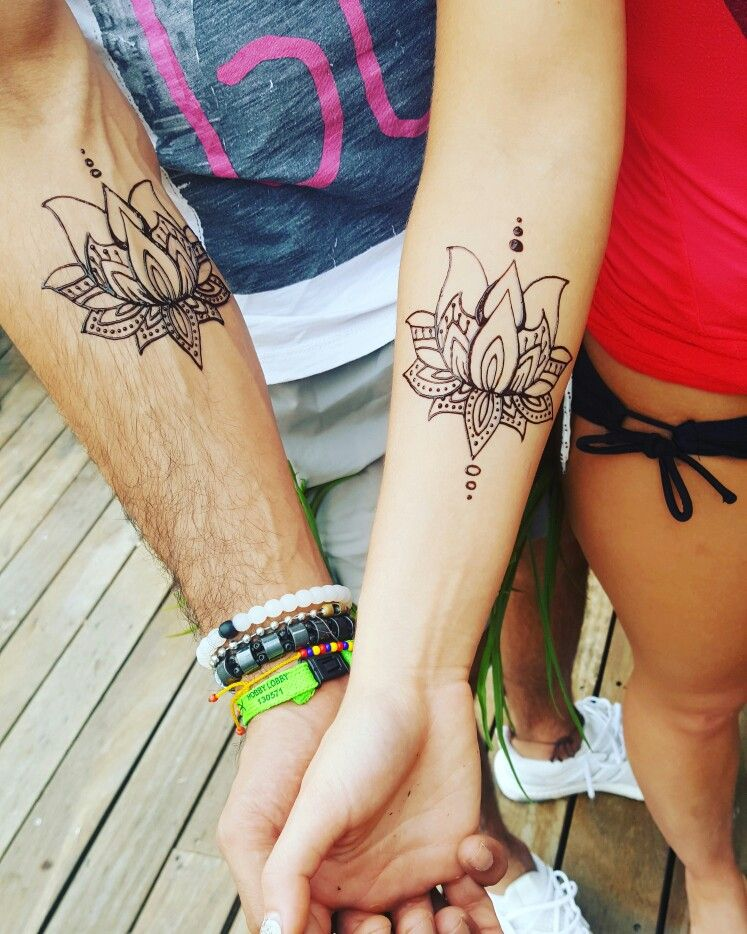 Couples tattoos are adorable what a way to show you love