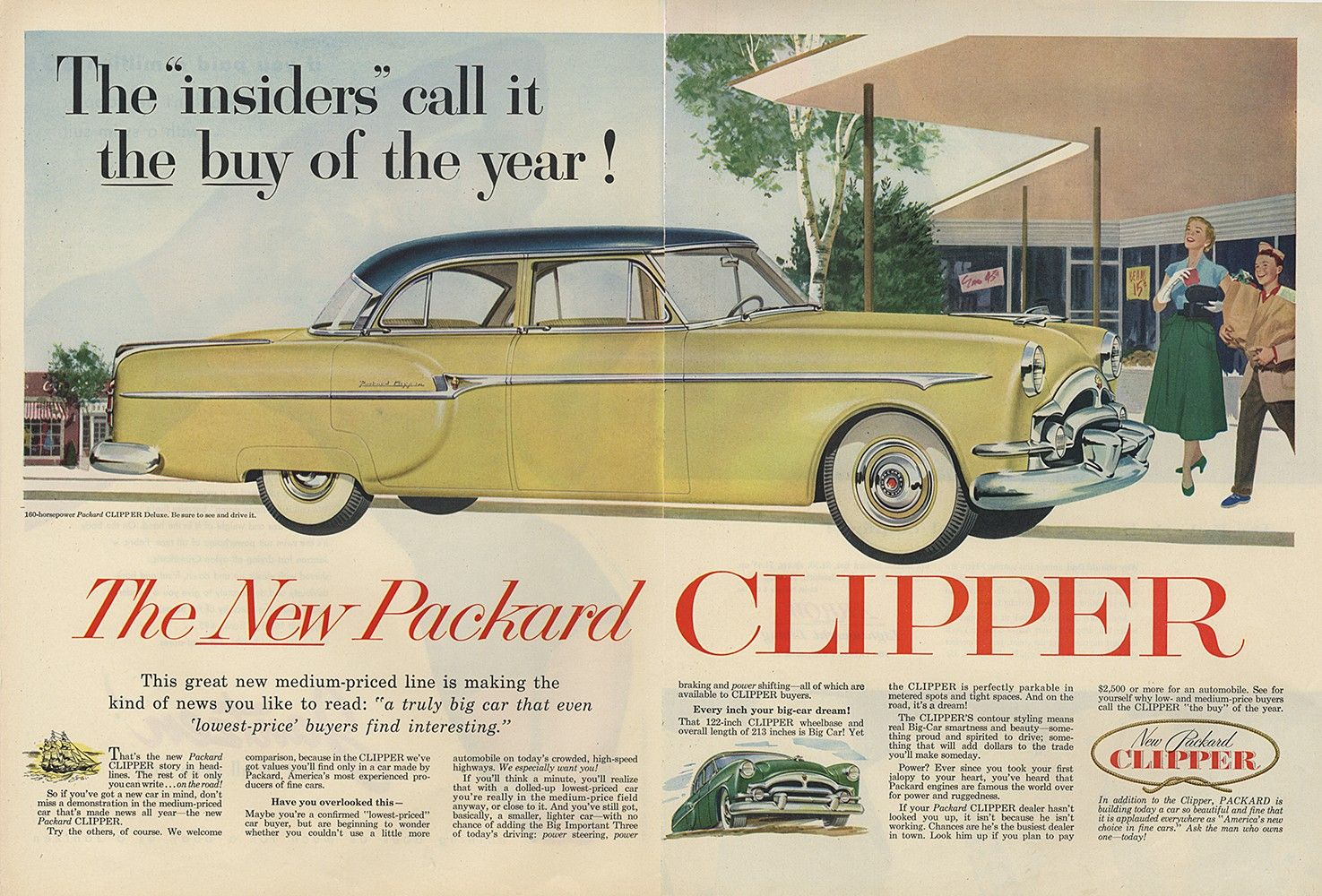 Packard Clipper Deluxe | Packard Original Ads | Pinterest | Cars