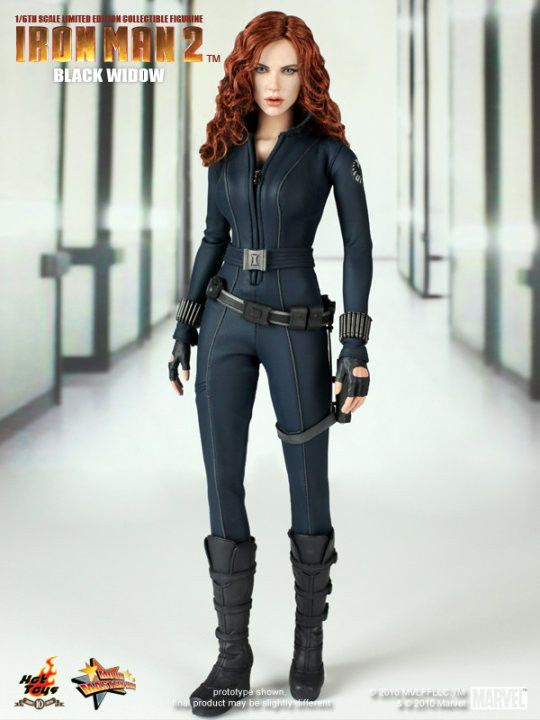 Hot Toys 12 Iron Man 2 Mms124 Black Widow Natalia Romanova