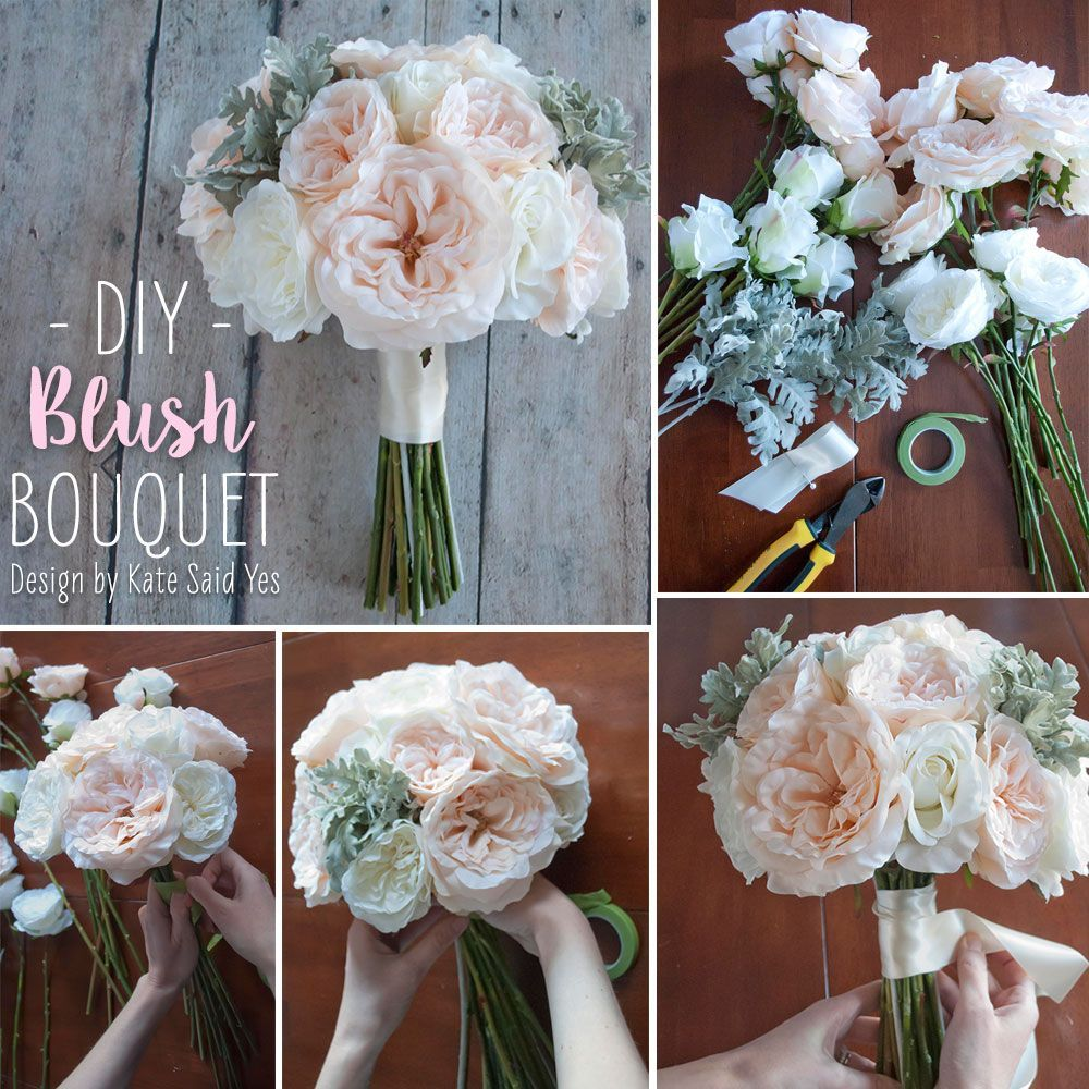 Follow this simple DIY and make your own wedding bouquets ahead of ...