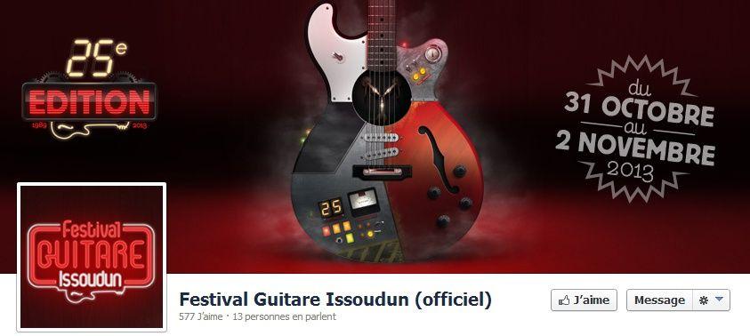 Festival de guitare d'Issoudun. Du 31 octobre au 2 novembre 2013 à Issoudun.