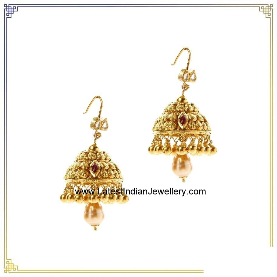 Jhumkas from Nac | Gold, Ear rings and Jewel
