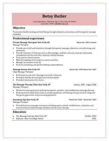 Relaxology Massage Therapist Free Resume Template Kmyshnu - The Best - Massage Therapist Resume Objective
