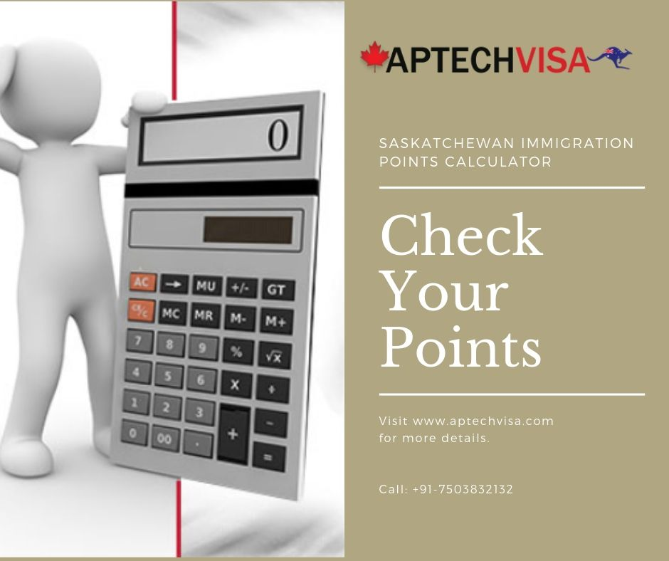 Saskatchewan Immigration Points Calculator Facebook post