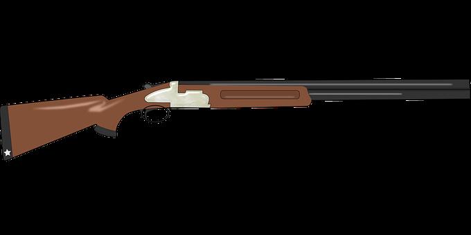 Senapan Senjata Hunter Olahraga Polisi Mobil Polisi Gambar