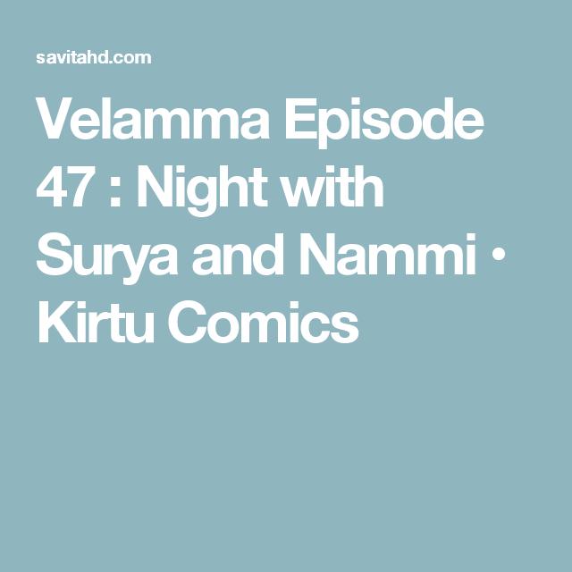 Velamma Episode 47 : Night with Surya and Nammi • Kirtu Comics