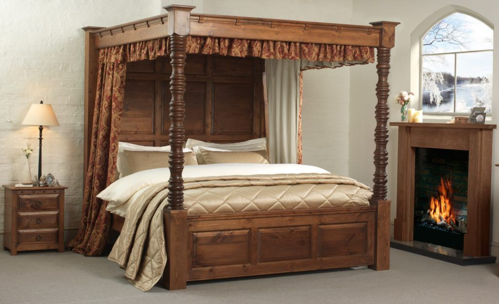 Wooden Four Poster Bed Frames